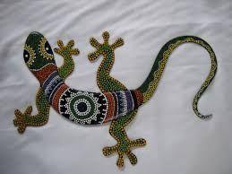 Resultado de imagen para mosaico iguana