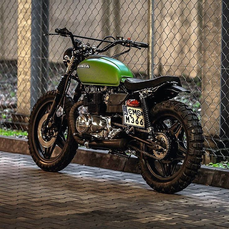 Honda CM400 Tracker from Poland's @jasin_motorcycles What do you think? Caferacernation.co #caferacer