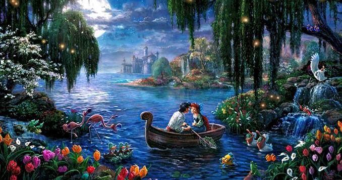Αυτοί οι πίνακες ζωγραφικής με θέμα την Disney είναι πιο εντυπωσιακοί κι από τις ταινίες