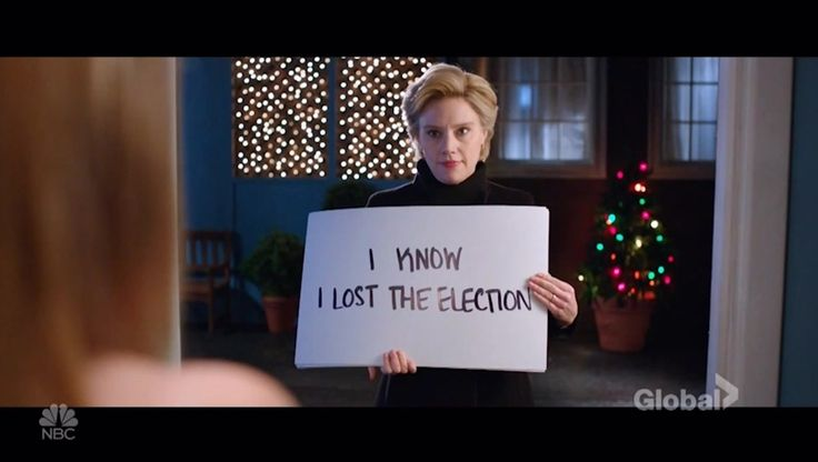 Watch Clinton asks elector to vote for her in 'Love Actually' parody on 'SNL' Video Online, on GlobalNews.ca