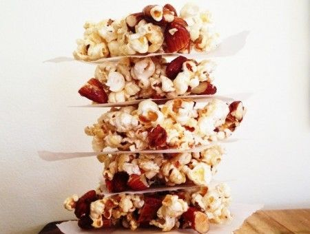 Popcorn and Almond Crunch - I Quit Sugar