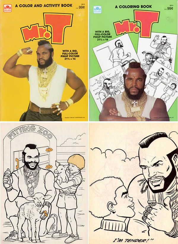 Mr. T Coloring Book