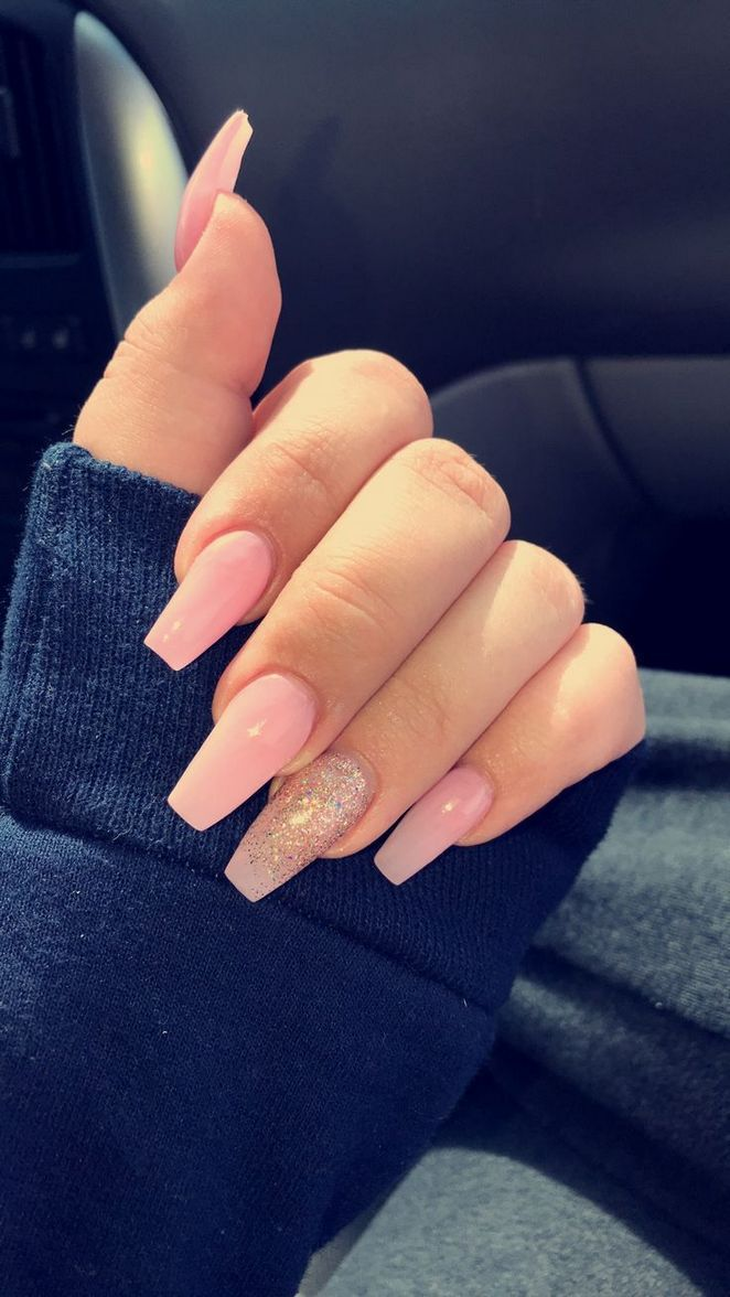 62 Most Popular Ways To Cute Nails Acrylic Short Simple 50 Onbudgethome Com Acrylic Nails Coffin Short Pink Acrylic Nails Coffin Shape Nails