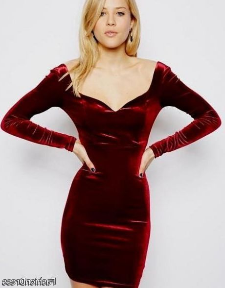 Cool sexy dark red dresses 2017-2018