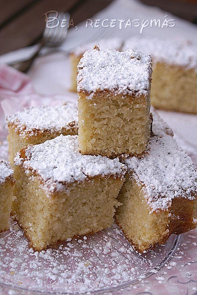 Brownie de coco (TMX)   Recetas de cocina fáciles y sencillas   Bea, recetas y más
