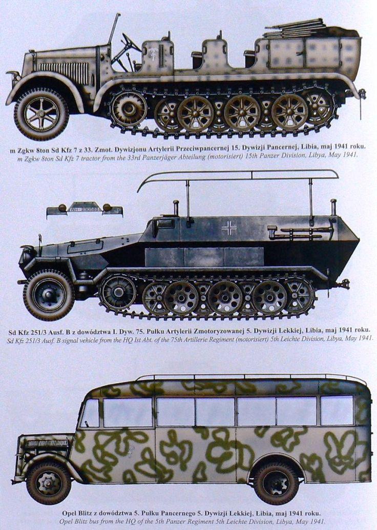 German Afrika Korps vehicles                                                                                                                                                                                 Más