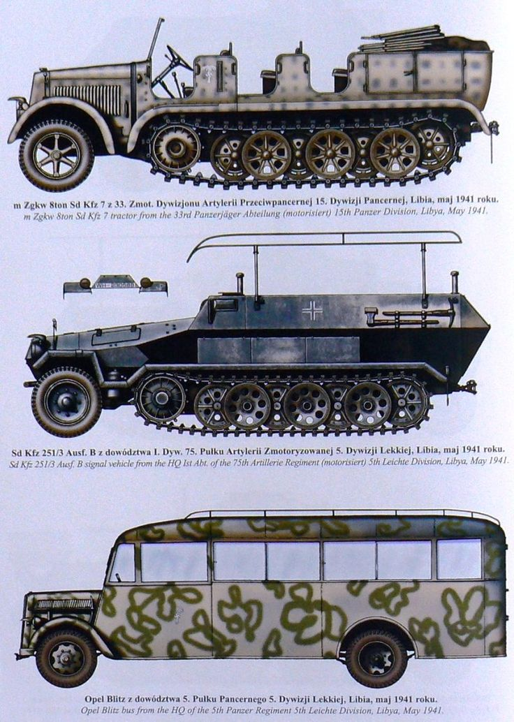 German Afrika Korps vehicles                                                                                                                                                                                 Más
