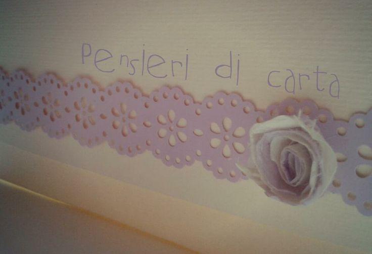 ...pizzo di carta! ...rosa i carta!