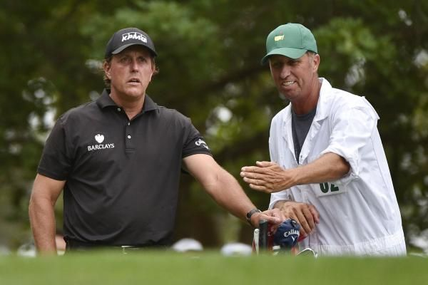 "This week, Phil Mickelson begins life without caddie Jim ""Bones"" Mackay, who has been carrying his golf bag for 25 years."