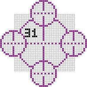 Minecraft castle scale blueprint, circle.