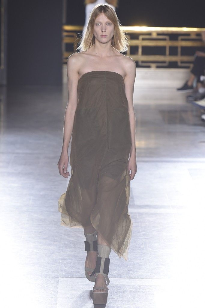 Long KITE Pearl Dress Spring/summer Rick Owens w10Qe