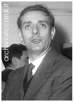 Dario Fo - 1960 - Foto Carlo Riccardi © Archivioriccardi.it