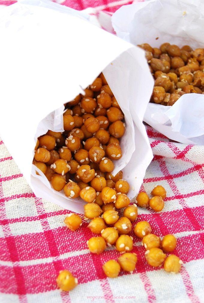 Chickpea crispies | Roasted chickpea | vegan | vegezmiloscia.com