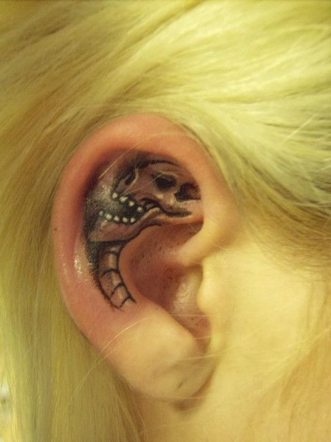 Behind The Ear Cross Tattoos  686.jpg