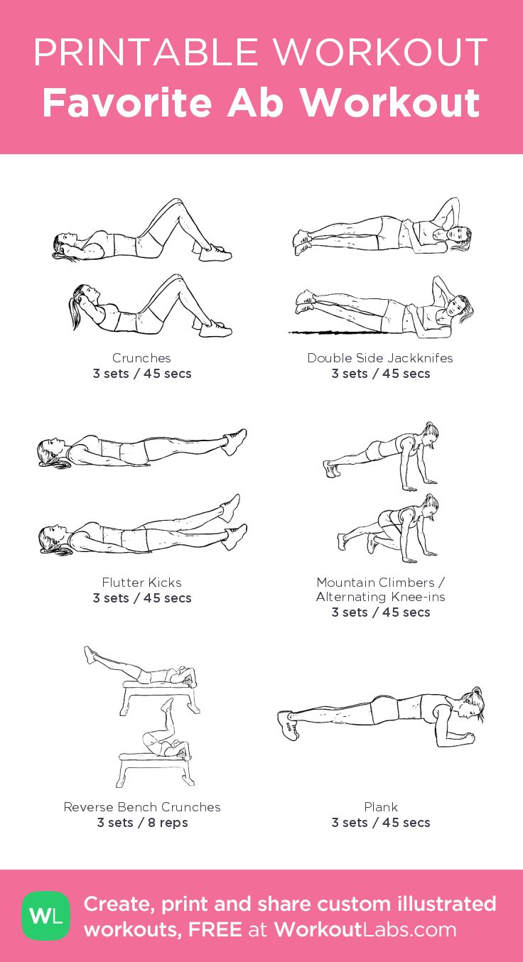 164 Best Images About Free Printable Workouts On Pinterest
