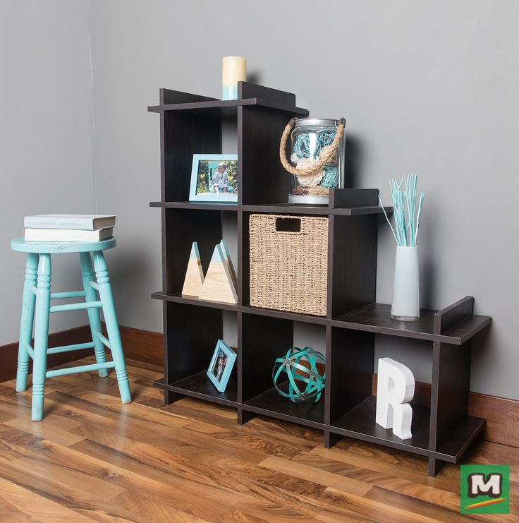 Stay organized with a Dakota™ Lockūbe™ Small Terrace Modular Shelf System. Composed of several modules, this interlocking system can be repositioned and rearranged for any purpose. In fact, you can create your own bookcase, closet and more!