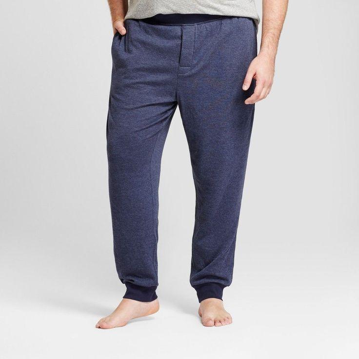 Men's Big & Tall Jogger Pajama Pants - Goodfellow & Co Navy (Blue) 4XBT