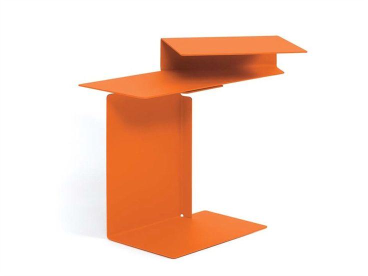 Steel Coffee Table DIANA E By ClassiCon | Design Konstantin Grcic (2002)  @ClassiCon