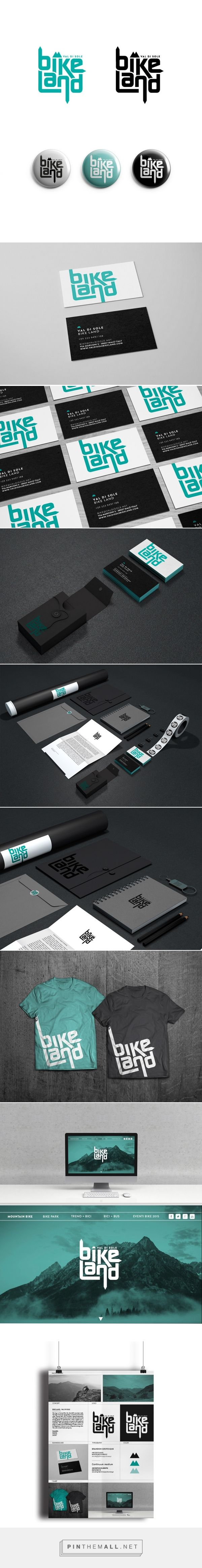Val di Sole Bike Land Branding on Behance