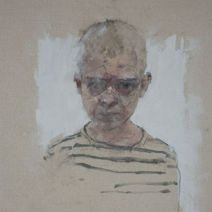 Nathan Ford Reuben 11.15, Oil on canvas 28 x 20 cm