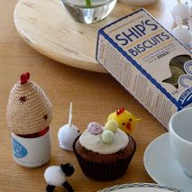 Manorbier Bed and Breakfast - Google+ Easter Gifts for my American and New Zealand bed and Breakfast Guests. Homemade truffles in the egg cup,mini simnel cake and the Pembrokeshire Beach Company laverbread biscuits, excellent with cheese. www.manorbierbedandbreakfast.co.uk
