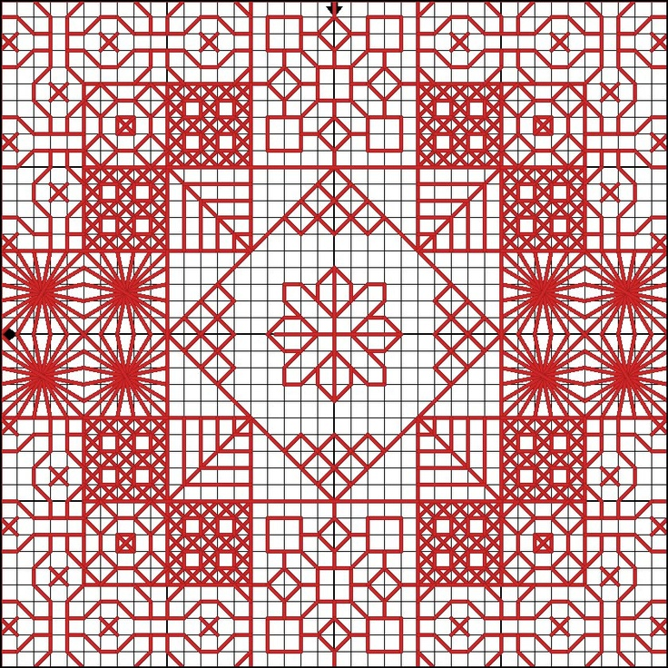 Again a Beautiful Blackwork Pattern Desinged by @Kirsty Smith Smith Smith Smith Evans Ross.