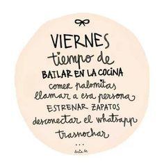 MIra todo lo que tienes que hacer hoy para celebrar que ya es... VIERNES   www.madrid-cerrajeros.es