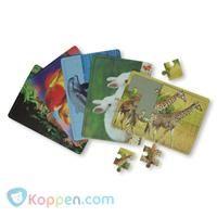 Puzzel dieren -  Koppen.com