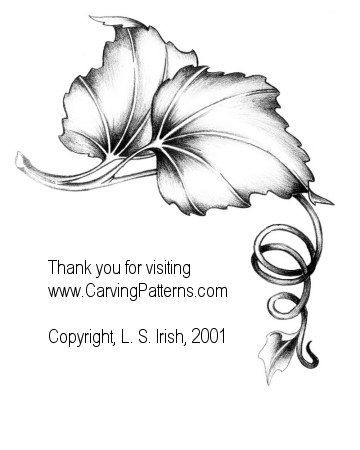 Free Printable Glass Etching Patterns | Free flowing designs create beautiful patterns for wood carving. Their ...: