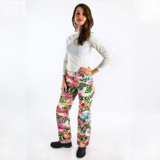 #carlabikini Pantalon de ski technique #Watts Femme Bardo Multicolore