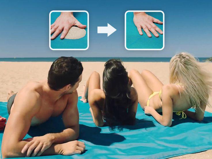 CGear Sand-free Mat - Håll sand och smuts borta på stranden!