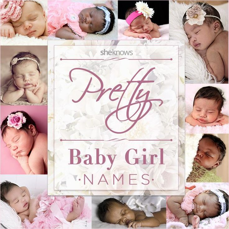 Looking for a baby girl name? There are so many sweet choices here!