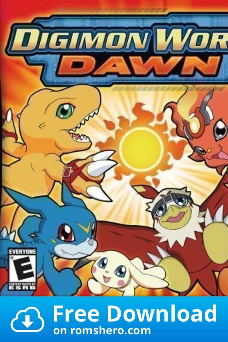 Download Digimon World Dawn Nintendo Ds Nds Rom Digimon