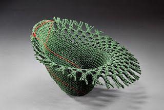David Fraser, woven baskets