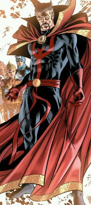 Doctor Strange as depicted by Mike Deodato Jr. He is my Cosplay Character, he suits me down to a 'T'. The original Dr Strange's costume which I preferred was different. I'll have to see if I can find and post some pix of that :) #MagicTrumpsSuperpowers ~ even Superman knows that!