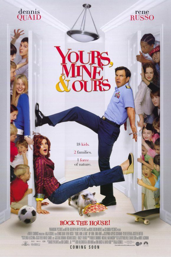 "Your mine and ours- ""Being a Military Brat growing up, I thought that this movie had some pretty good plots that I could relate to."""