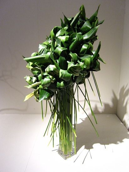 "Grass-ikebana exhibition ""flowers crush' (first term): grass-flow arrangement with フラワーアレンジブログ-... -Ameba (Amoeba)"