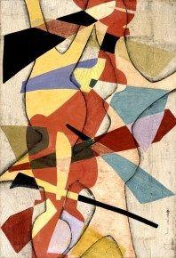 Maria Jarema - Polish artist 1908-1958. Lovely monotype