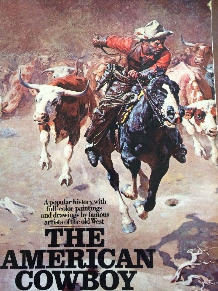 The American Cowboy Book by Harold McCracken 1976 Cowboy