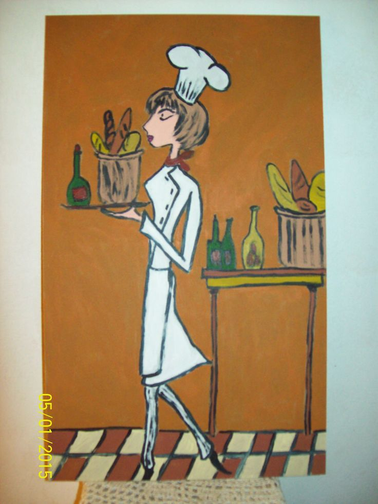 Cuadros para la cocina pintando pinterest - Cuadros para la cocina ...