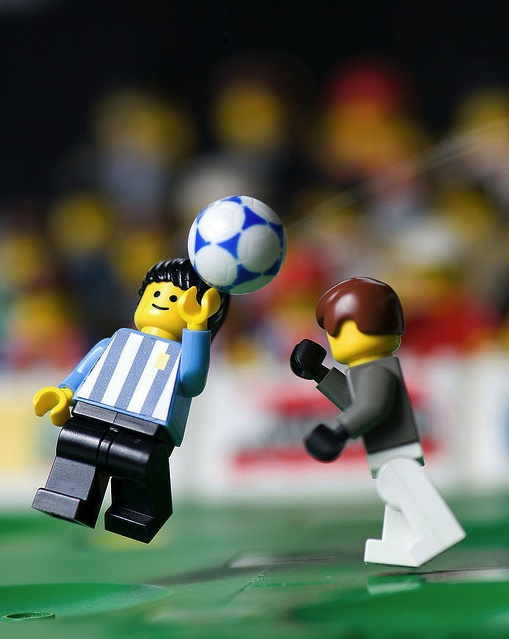 It's no secret that we're big fans of football (soccer) and the tiny bricks hailing from Denmark, Legos. A must have piece of art for the RAD AND HUNGRY office? Hand of God Lego recreation print from Mike Stimpson.