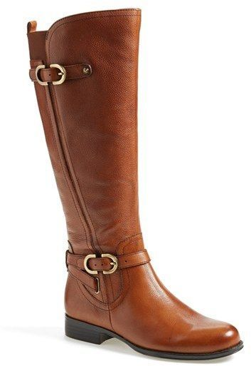 Naturalizer 'Jennings' Knee High Boot (Women) (Wide Calf) available at