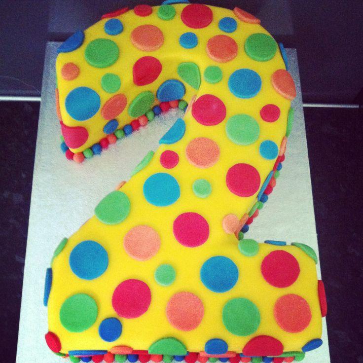 Mr tumble number 2 cake