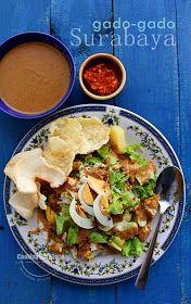 One of Indonesian salad: Gado-Gado Surabaya. Must try!