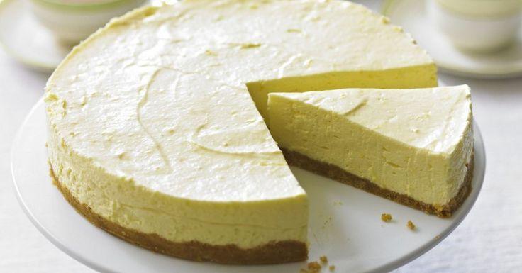 Лимонный чизкейк без выпечки