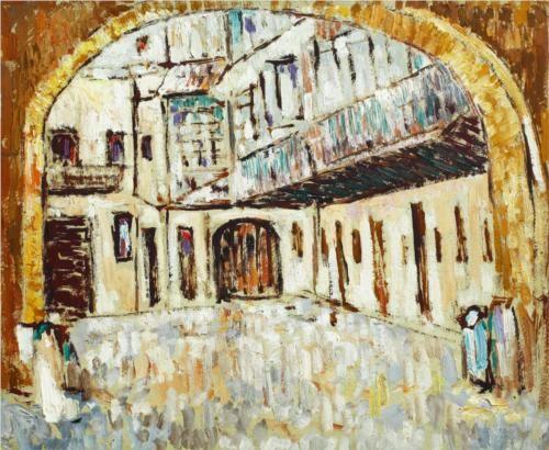 Inner Courtyard (Gheorghe Tattarescu Museum) - George Stefanescu-Ramnic