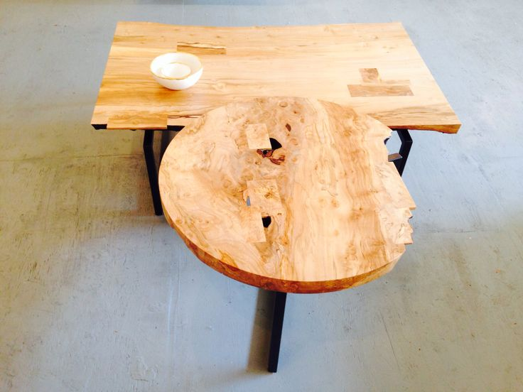 Live edge table by Kate Duncan