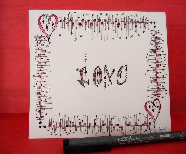 Tiphanie.B Card (inspired by Joanne Fink) http://originaldoodle.blogspot.fr/2015/05/challenge-1-heart.html