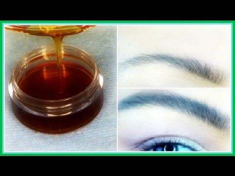 HOW TO GROW YOUR EYEBROWS FAST | GET THICKER EYEBROWS IN 7 DAYS | 100% E...
