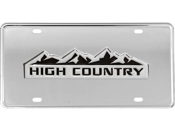 Gatorgear Chevy High Country Logo License Plate Chevy High Country Trucks Buy Truck